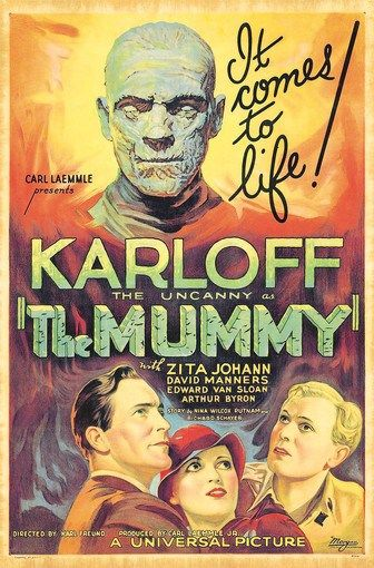 KARLOFF THE UNCANNY IN THE MUMMY