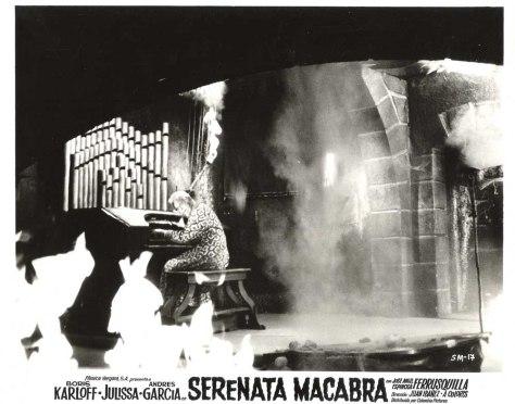Macabre Serenade (1968) lobby card. Boris Karloff