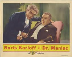 MAN WHO CHANGED HIS MIND LOBBY CARD. BORIS KARLOFF