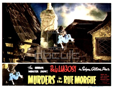 Murders in the Rue Morge 1932 lobby card