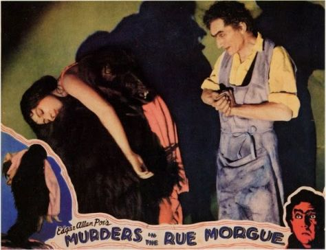 Murders in the Rue Morgue (1932) lobby card
