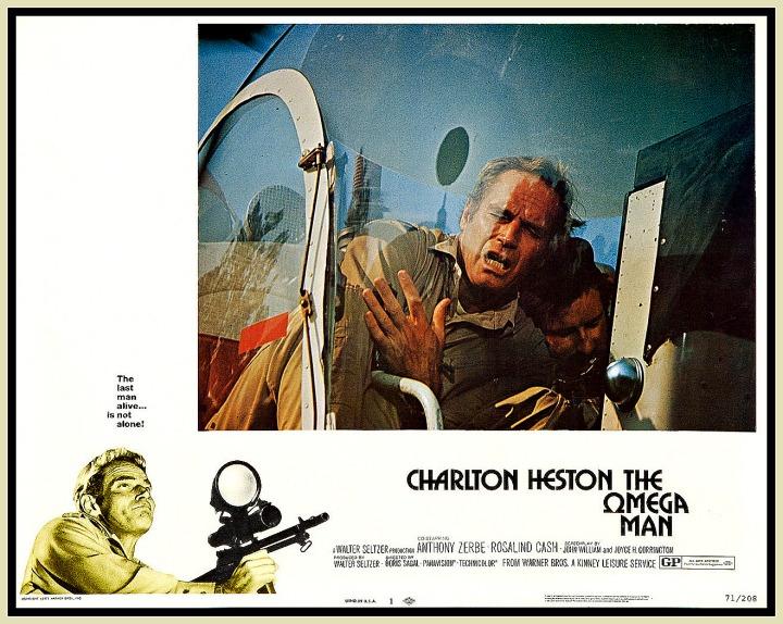 OMEGA MAN (1971) lobby card