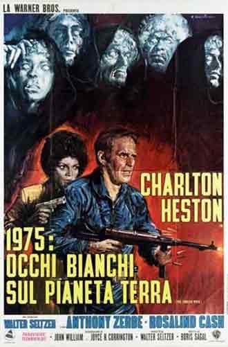 Omega Man (1971) poster