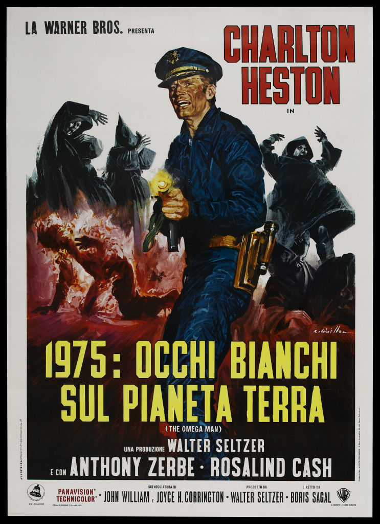 omega man movie poster