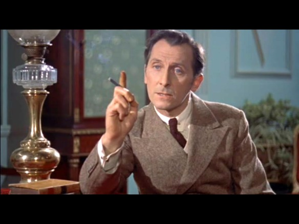 Peter Cushing Van Hesling