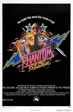 Phantom of the Paradise 1974 poster