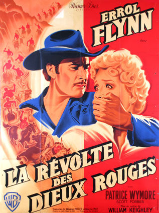 Rocky Mountain (1950) Errol Flynn, Patrice Wymore. film poster