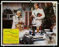Snake People lobby card. Boris Karloff