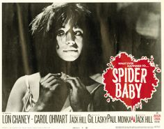 SPIDER BABY (Jack Hill) Lobby card