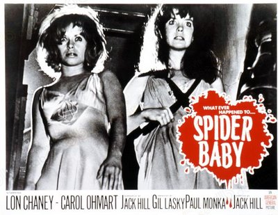 SPIDER BABY LOBBY CARD