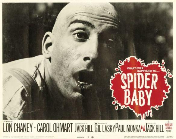 SPIDER BABY SIG HAIG LOBBY CARD