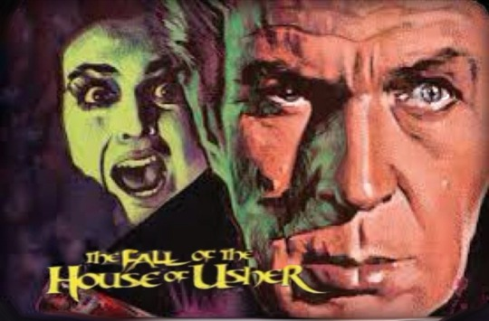 THE FALL OF THE HOUSE OF USHER . Vincent Price