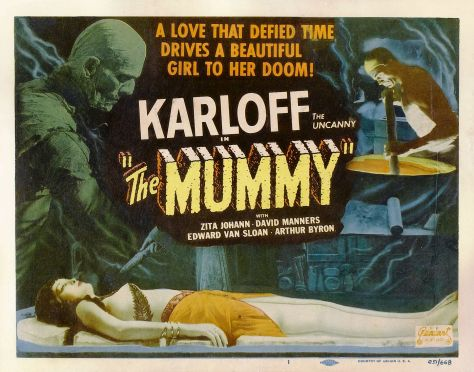 THE MUMMY (1932( LOBBY CARD