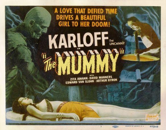 THE MUMMY (1932( LOBBY CARD