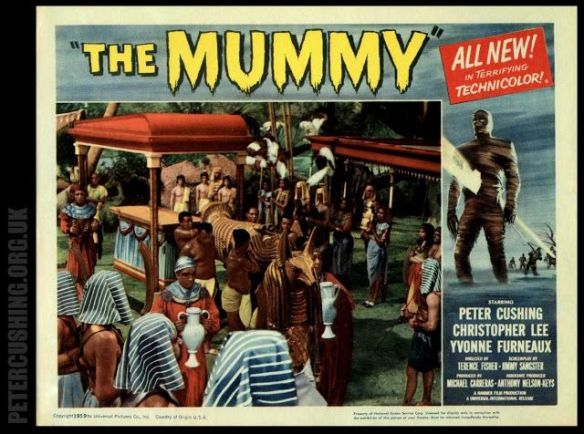 THE MUMMY (1959) lobby card