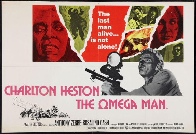 The Omega Man (1971) poster