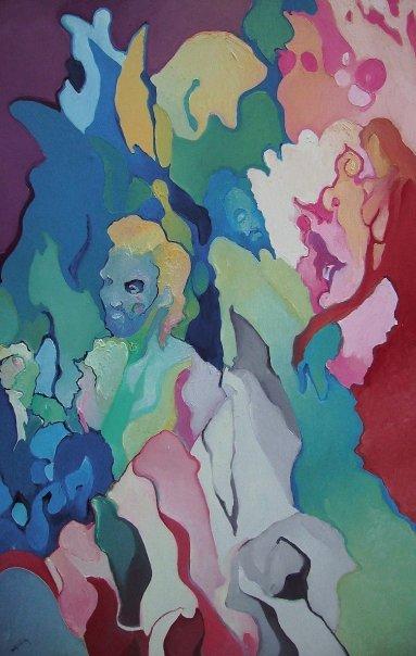 Alfred Eaker Yellow Resurrection. oil on canvas. © 2008 Alfred Eaker