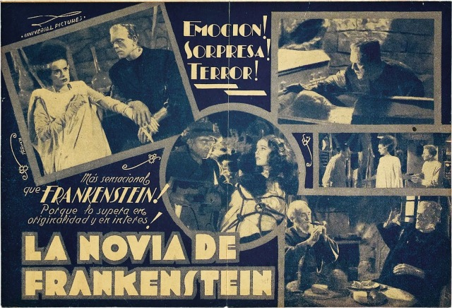 BRIDE OF FRANKENSTEIN (1935 (1935) AD