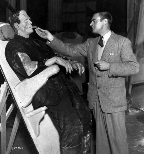 BRIDE OF FRANKENSTEIN (1935 (1935) KARLOFF AND CLIVE