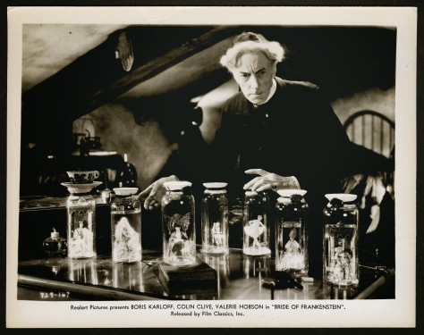 BRIDE OF FRANKENSTEIN (1935 (1935) LOBBY CARD THESIGER