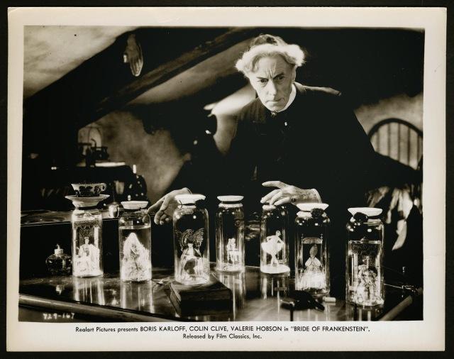 BRIDE OF FRANKENSTEIN (1935 (1935) LOBBY CARD THESIGER