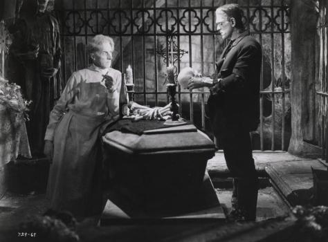 BRIDE OF FRANKENSTEIN (1935 (1935) THESIGER AND KARLOFF