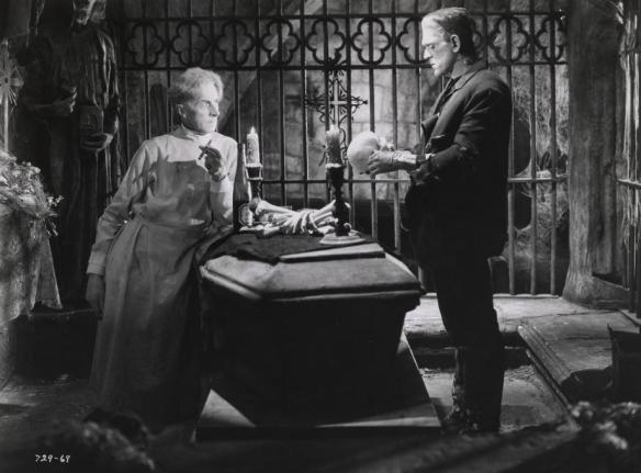BRIDE OF FRANKENSTEIN (1935 (1935) THESIGER AND KARLOFF