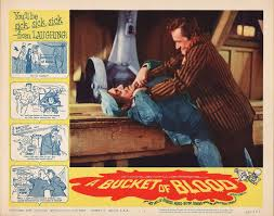 BUCKET OF BLOOD (CORMAN) lobby card