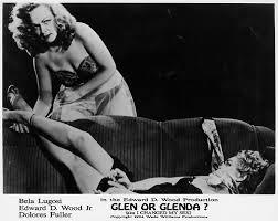 GLEN OR GLENDA lobby card (Ed Wood)