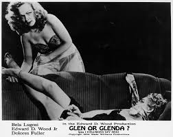 GLEN OR GLENDA lobby card (Ed Wood)