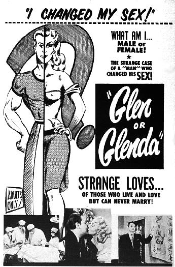 GLEN OR GLENDA one sheet