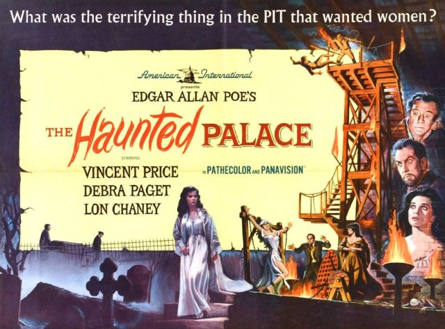 HAUNTED PALACE poster (Roger Corman)