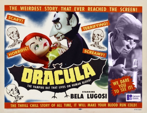 MAD MONSTER PARTY (1967) dracula poster