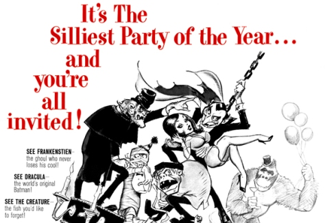 MAD MONSTER PARTY (1967) news ad