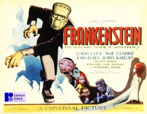 Mad Monster Party FRANKENSTEIN POSTER copy