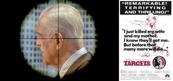 Target (1968) Movie ad . Karloff
