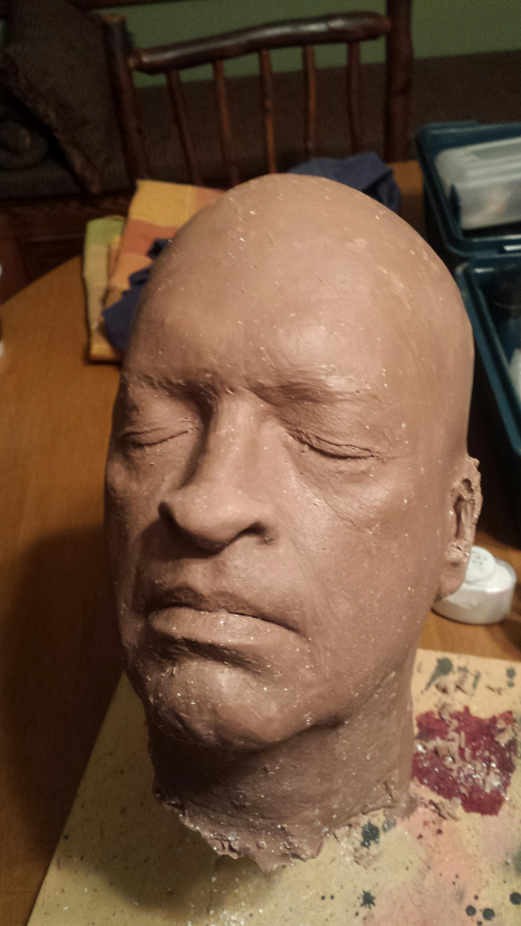BlueMahler death mask 2