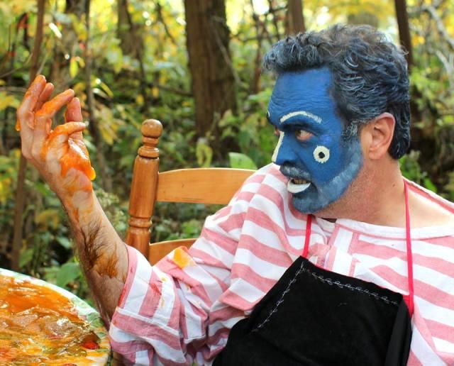 DAVID ROSS' UNREQUITED Alfred Eaker as BlueMahler. Yuk
