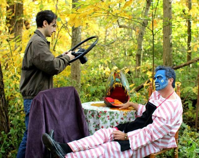 DAVID ROSS' UNREQUITED J. Ross Eaker filming Alfred Eaker as BlueMahler