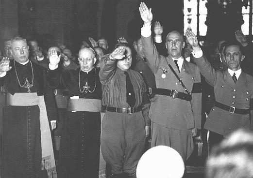 CATHOLIC CLERGY AND NAZI OFFICIALS