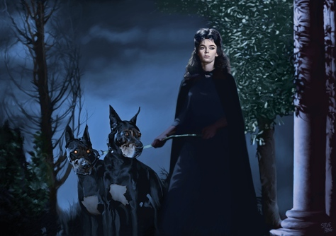 BARBARA STEELE %22BLACK SUNDAY%22