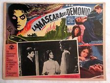 BLACK SUNDAY (MASK OF THE DEMON) LOBBY CARD