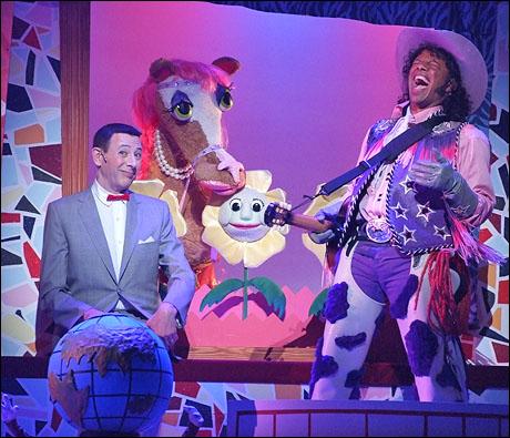 Pee Wee's Playhouse COWBOY CURTIS AND PEE WEE