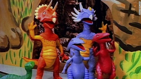 Pee Wee's Playhouse DINOSAUR FAMILY