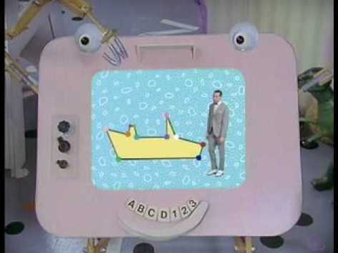 Pee Wee's Playhouse magic screen