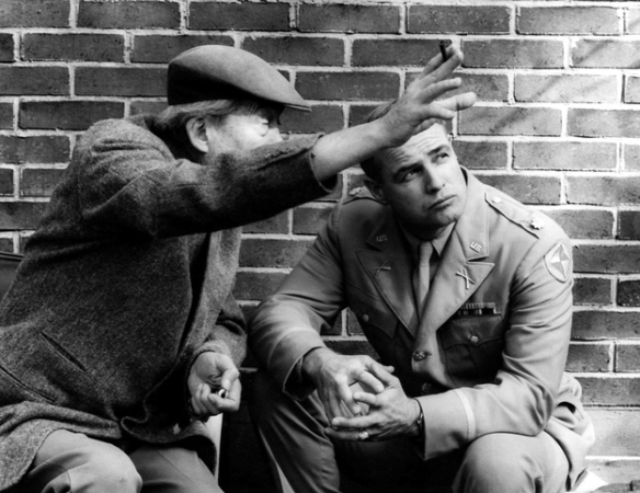 Reflections in a Golden Eye Huston directing Brando