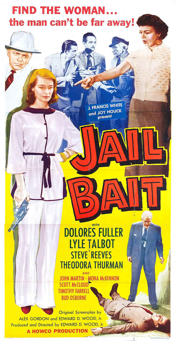 %22JAIL BAIT%22 ((ED WOOD) POSTER