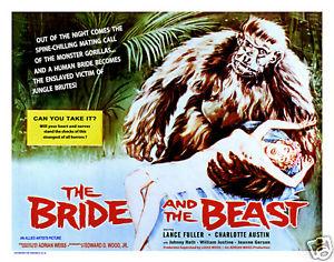 BRIDE AND THE BEAST LOBBY CARD