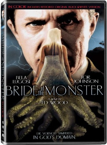 BRIDE OF THE MONSTER COLORIZED DVD