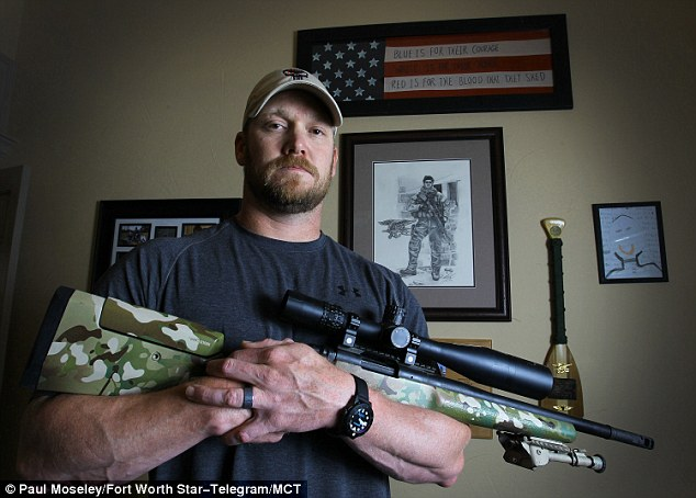 CHRIS KELLY 'AMERICAN%22 SNIPER